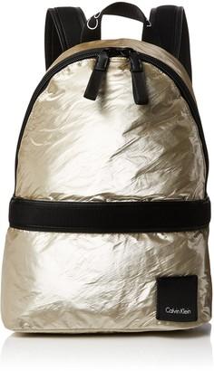Calvin Klein Fluid Backpack Metalic Womens Backpack