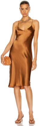 Nili Lotan Short Cami Dress in Whiskey | FWRD