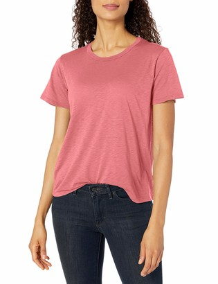 Velvet by Graham & Spencer Women's Lux Slub Crewneck Tee