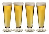 Mikasa brewmasters Lager Glasses, Set of 4