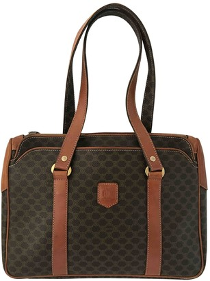 Celine Brown Cloth Handbags