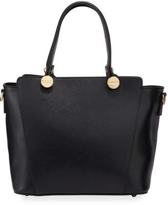 Neiman Marcus Leather Satchel Tote Bag
