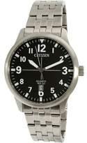 Citizen Men's BI1050-81F Silver Stainless-Steel Quartz Dress Watch