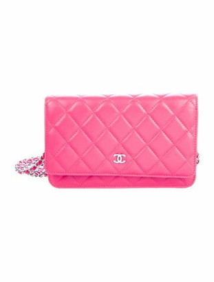 Chanel Classic Wallet On Chain Fuchsia