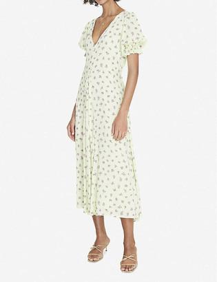 Faithfull The Brand Maggie floral-print crepe midi dress