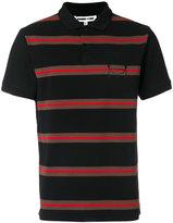 McQ striped polo shirt