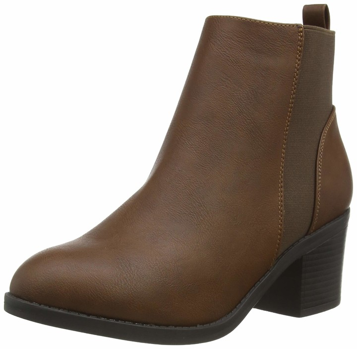 New Look Women's WF CORA 2 IC-PU CHLS BLOCK HL63:18:S207 Ankle boots