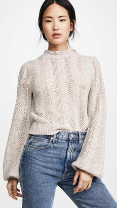 ASTR the Label Brynn Mock Neck Sweater