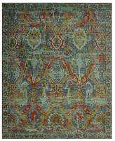 """Nourison Timeless Rug - Turquoise, 5'6"""" x 8'"""