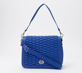 Lug Bubble Quilted Crossbody with RFID - Presto