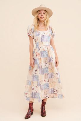 LoveShackFancy Lais Midi Dress