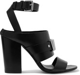 McQ by Alexander McQueen Metal-trimmed leather sandals