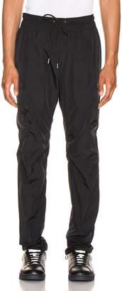 John Elliott Nylon Cargo Pants in Black | FWRD