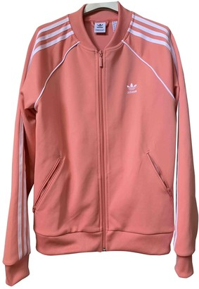 adidas Pink Polyester Jackets