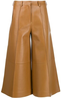 Rokh Cropped Palazzo Trousers