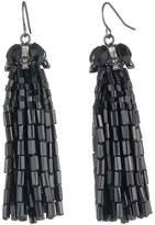 Carolee Tassel Cap Earrings