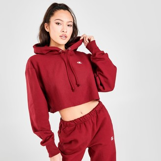 Champion Women's Reverse Weave Crop Hoodie