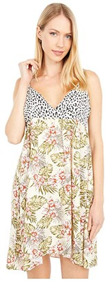 Volcom Sorry Babe Dress (Green Tea) Women's Dress