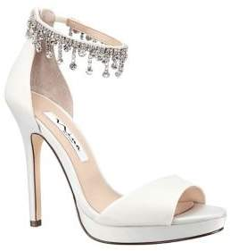Nina Feya Embellished Stiletto Heel Sandals