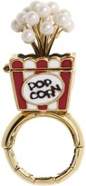 Betsey Johnson A Day At The Zoo Popcorn Stretch Ring (Red) - Jewelry
