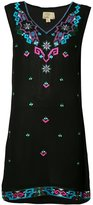 Nicole Miller embroidered shift dress