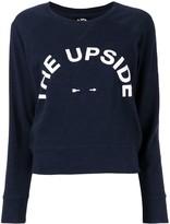The Upside Horseshoe Bronte logo print sweatshirt