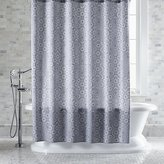 Crate & Barrel Marimekko Kioto Royal Blue Shower Curtain