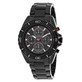 Michael Kors Jetmaster MK8455 Men's Round Black Carbon Fiber Watch