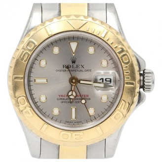 Rolex Lady Yacht-Master Silver gold and steel Watches