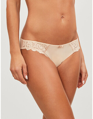 Maison Lejaby Gaby lace and satin briefs