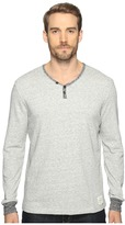 Lucky Brand Y Neck Terry Tee Men's Clothing