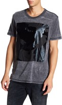 William Rast Mixed Camo Graphic Tee Shirt