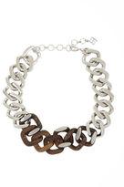 BCBGMAXAZRIA Chunky Wood-Chain Necklace