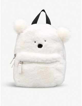 Kurt Geiger London Snowball faux-fur backpack
