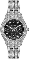 Bulova Women's Swarovski Crystal Bracelet Watch, 33mm