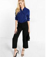 Express viscose blend oversized shirt
