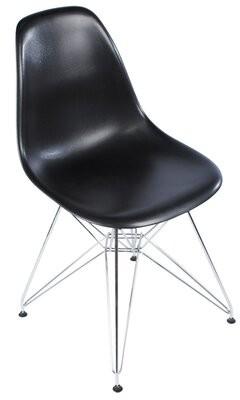 Joseph Allen Eiffel Tower Side Chair Color: Black