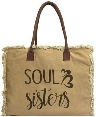 Vintage Addiction Soul Sister Canvas Tote Bag
