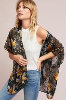 Anthropologie Paloma Floral Kimono
