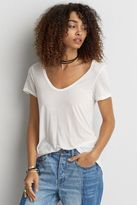 American Eagle Outfitters AE Hi-Lo Jegging T-Shirt