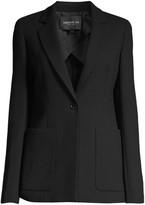 Lafayette 148 New York Nazelli Textured Wool Jacket