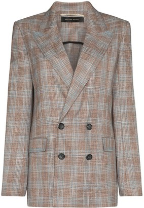 Roland Mouret Salvatore checked blazer