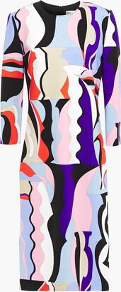 Emilio Pucci Printed Ponte Dress