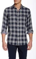 Grayers Double Cloth Plaid Long Sleeve Regular Fit Shirt