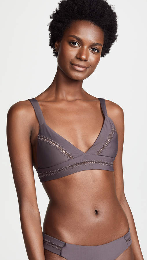 Pilyq Stitched Ellie Halter Bikini Top