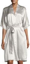Christine Designs Bijoux Short Silk Robe