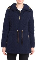 Laundry by Shelli Segal Women's Quilted Jacket