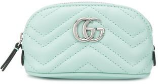 Gucci GG Marmont matelasse-chevron key case