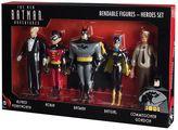 Toysmith DC Comics New Batman Adventures Bendable Action Figure Boxed Set by
