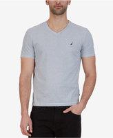 Nautica Men's Striped Slim-Fit V-Neck Cotton T-Shirt